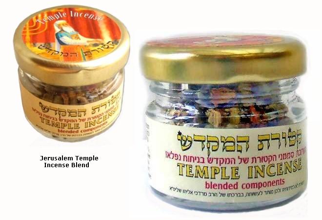 Temple Incense Blend in a Jar