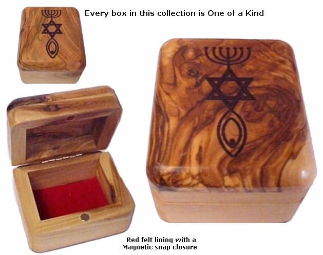 Olive Wood Box Grafted In Romans 11:16-26
