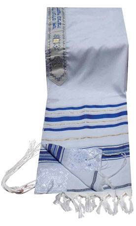 Blue and Gold Tallit