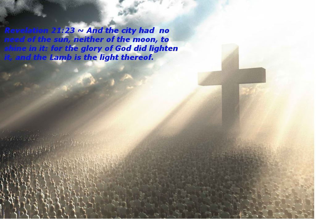 Jesus light of glory image