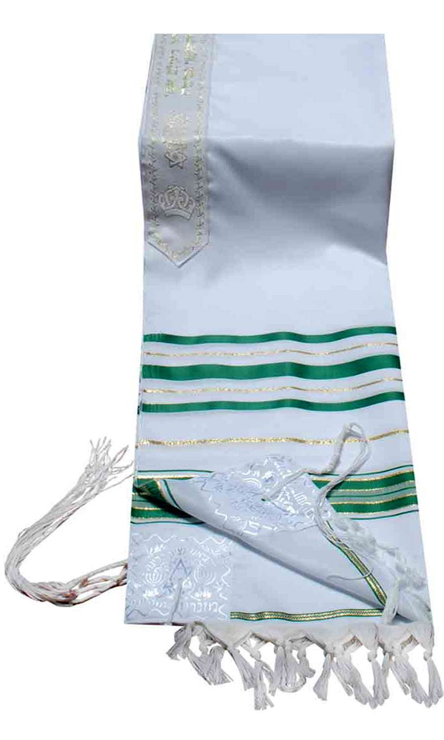 Green and Gold Tallit