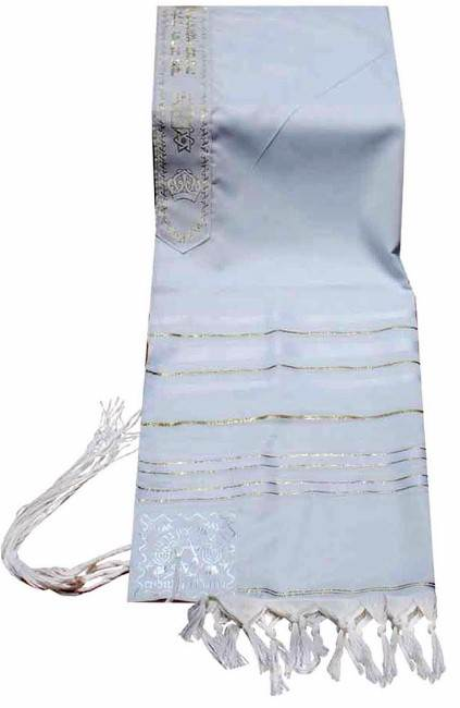 White and Gold Tallit