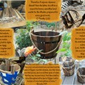 A Wooden Bucket Collage