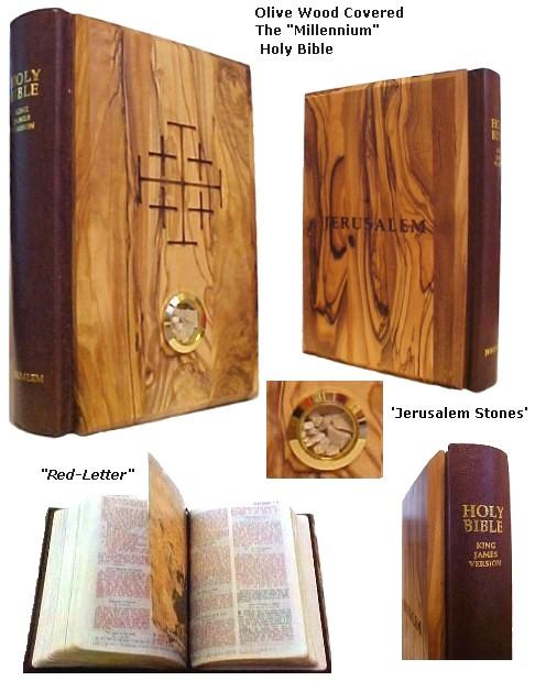 Millennium Bible with Jerusalem Stones
