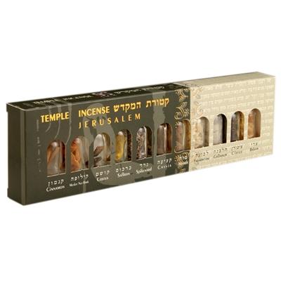 11 Bottles Temple Incense Set