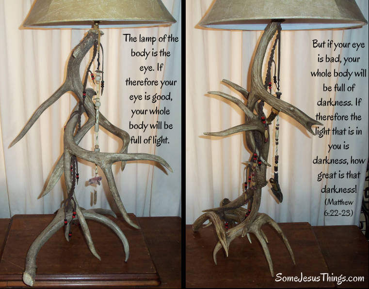 Custom Antler Lamps