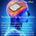 The Holy Spirit is Your Spiritual Hard Drive