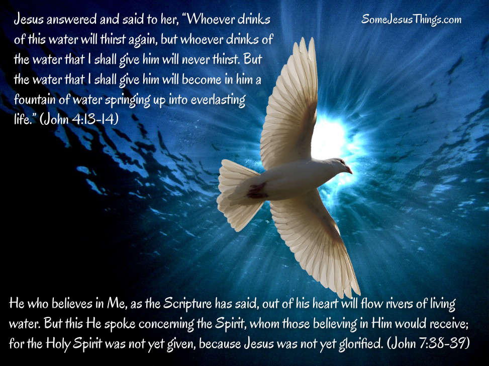 Holy Spirit is the Living Water
