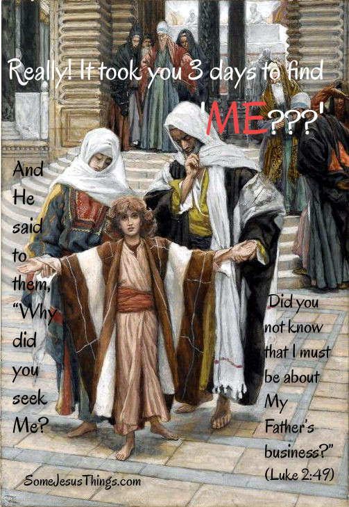 Jesus at age 12 found in a Temple in Jerusalem
