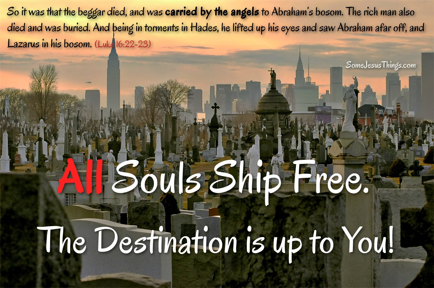 Free Shipping for All Souls Article Pic