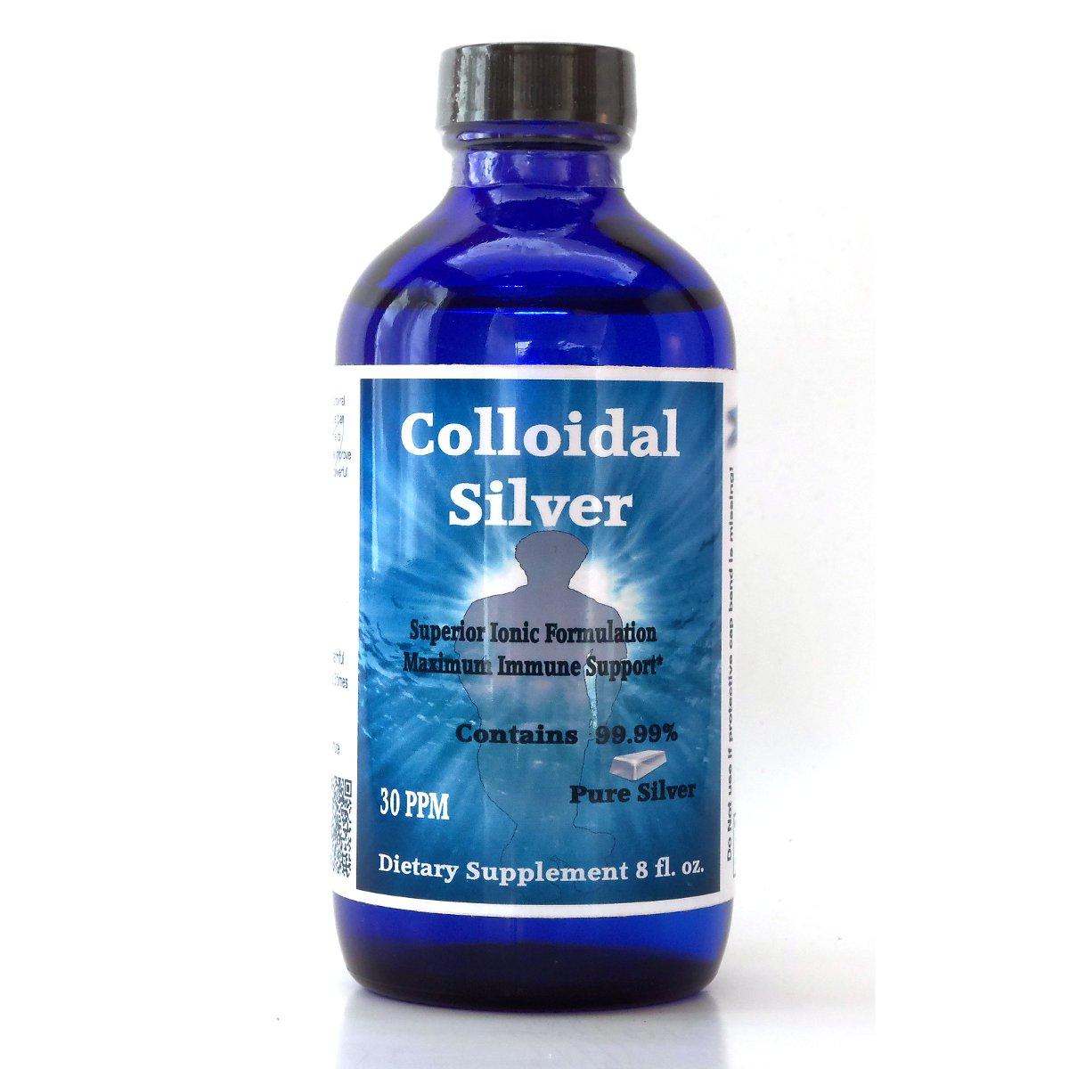 8 ounce Colloidal Silver